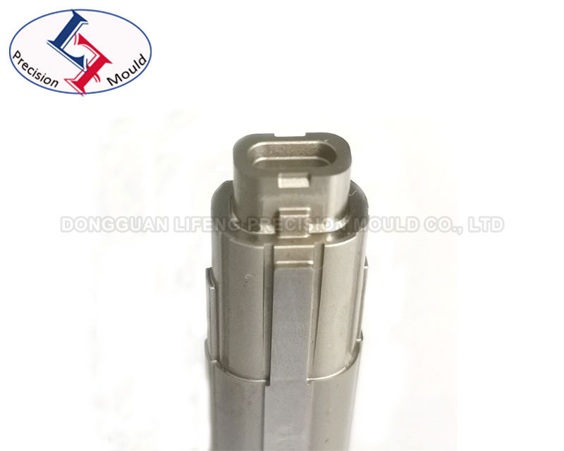Precision connector mold part with one-week delivery