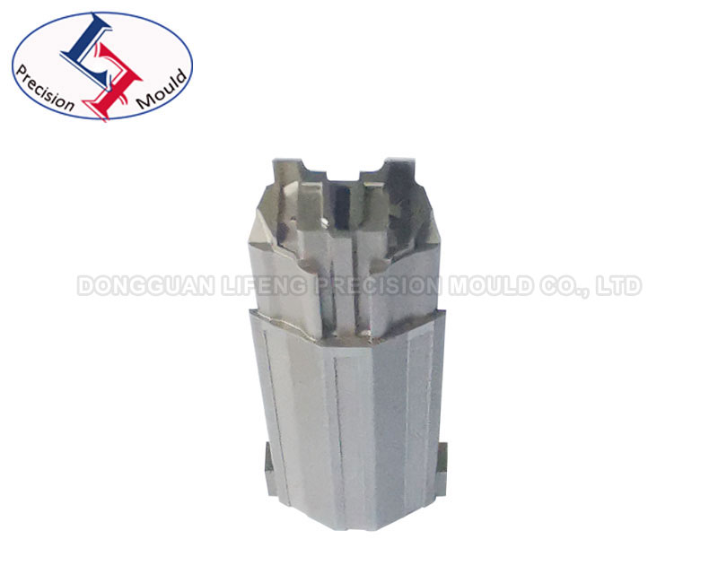 Precision connector mold part with EDM precision within 0.005mm