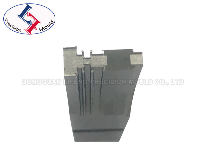 Profile grinding square carbide punch sample